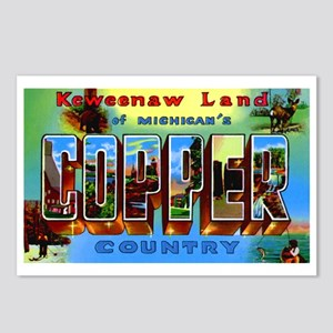 Copper Country Michigan Postcards (Package of 8)
