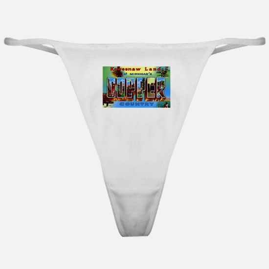 Copper Country Michigan Classic Thong