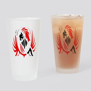 Iron Like Lion Trinidad Drinking Glass