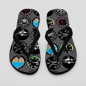 Flight Instruments Flip Flops