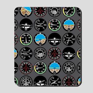Flight Instruments Mousepad