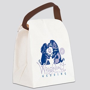 Wigglebutt Wedding Canvas Lunch Bag