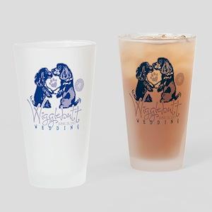 Wigglebutt Wedding Drinking Glass