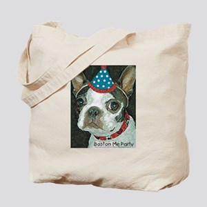 Boston Terrier Me Party Tote Bag