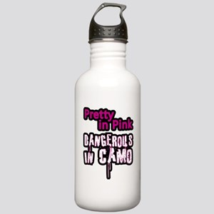 Pretty in Pink..Danger Stainless Water Bottle 1.0L