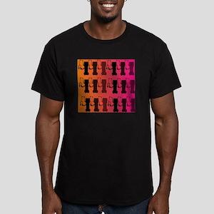 respiratory therapist  Men's Fitted T-Shirt (dark)