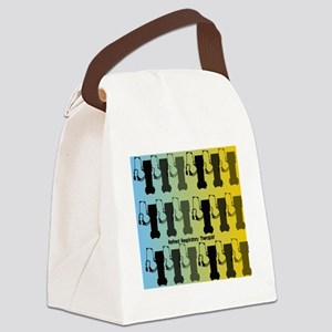 Retired Respiratory Therapist Canvas Lunch Bag