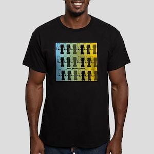 Retired Respiratory Th Men's Fitted T-Shirt (dark)