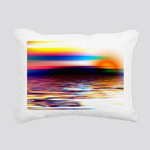 AbstOcean Rectangular Canvas Pillow