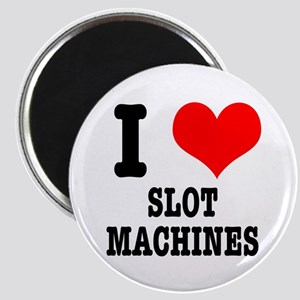 I Heart (Love) Slot Machines Magnet