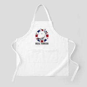 Bull Terrier English flag Apron