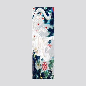 18th C Japanese Gold tipped Phoen 36x11 Wall Decal