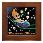 Enjoy the Ride! Framed Tile