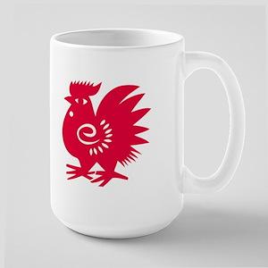 Red Rooster<BR>Large Mug