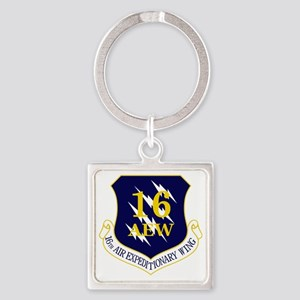 16th AEW Square Keychain