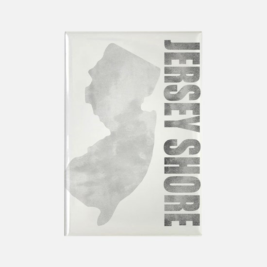 Jersey Shore distressed design Rectangle Magnet
