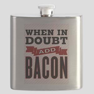 Add Bacon Flask