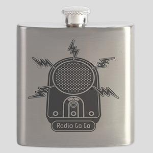 Radio Ga Ga Flask