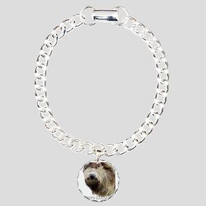 Love Sloths T-shirt Charm Bracelet, One Charm