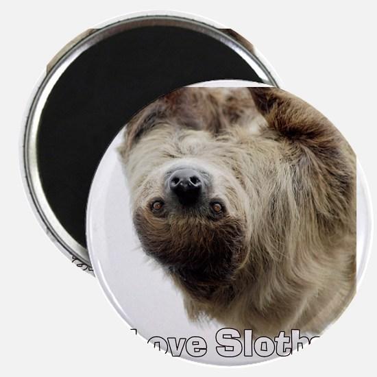 Love Sloths T-shirt Magnet