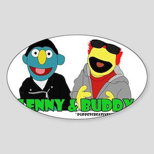 Lenny  Buddy Sticker (Oval)