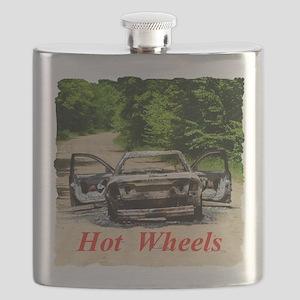 Burnt Car Flask