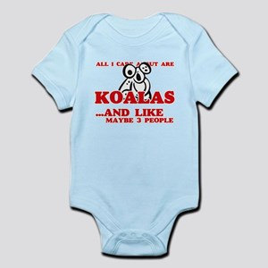 All I care about are Koalas Body Suit
