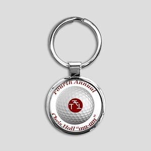 Fourth Annual am-am Round Keychain