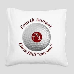 Fourth Annual am-am Square Canvas Pillow