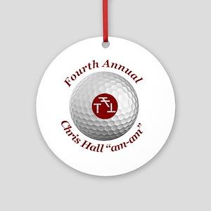 Fourth Annual am-am Round Ornament