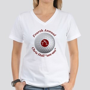 Fourth Annual am-am Women's V-Neck T-Shirt