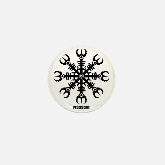 Helm of awe - Aegishjalmur No.2  Mini Button