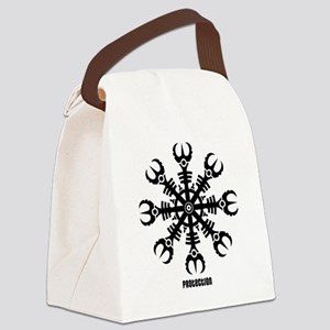 Helm of awe - Aegishjalmur No.2  Canvas Lunch Bag