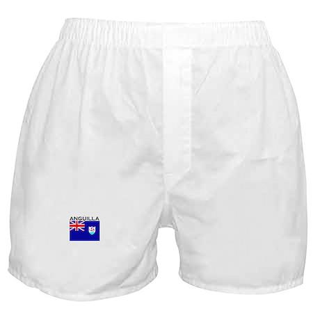 Anguilla Flag III Boxer Shorts