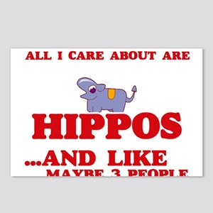 All I care about are Hipp Postcards (Package of 8)