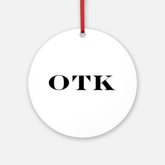 OTK Ornament (Round)