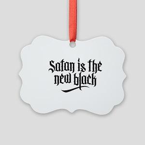 Satan is the new black No.1 Picture Ornament
