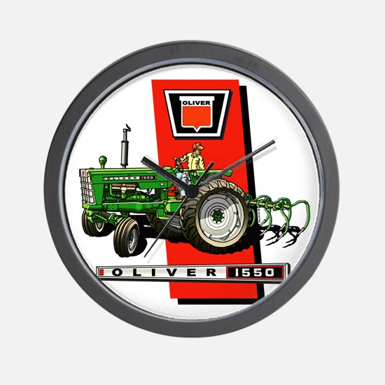 Oliver 1550 tractor Wall Clock