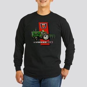 Oliver 1550 tractor Long Sleeve Dark T-Shirt