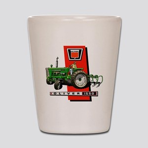 Oliver 1550 tractor Shot Glass