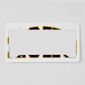 ROHO logo License Plate Holder