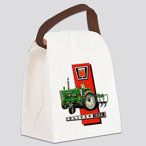 Oliver 1550 tractor Canvas Lunch Bag