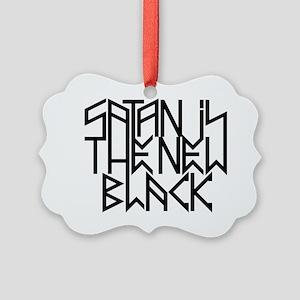 Satan is the new black No.3 Picture Ornament