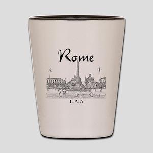Rome_10x10_v1_Black_Piazza del Popolo Shot Glass