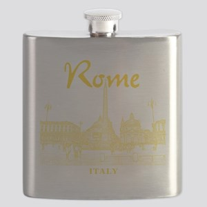 Rome_10x10_v1_Yellow_Piazza del Popolo Flask