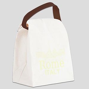 Rome_12X12_v1_Cream_Piazza del Po Canvas Lunch Bag