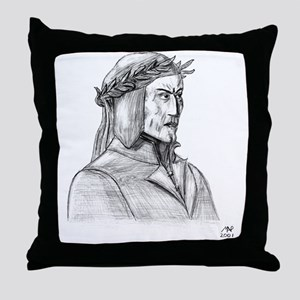 Dante Alighieri Throw Pillow