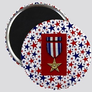 Silver Star Magnet