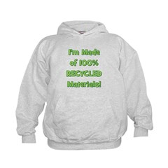 Made of 100% Recycled (green) Hoodie