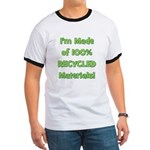 Made of 100% Recycled (green) Ringer T